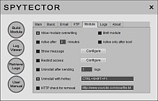 Keylogger Options